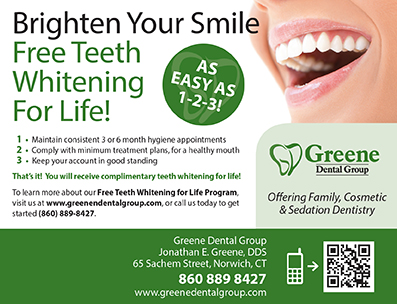 Free Teeth Whitening For Life Promotion